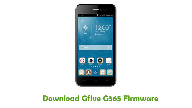 Download Gfive G365 Firmware
