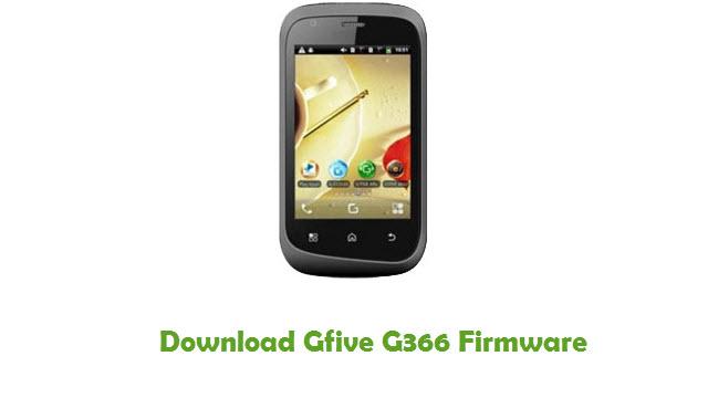 Download Gfive G366 Firmware