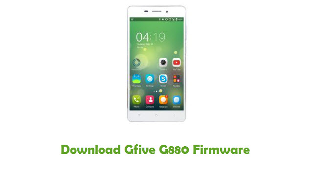 Download Gfive G880 Firmware