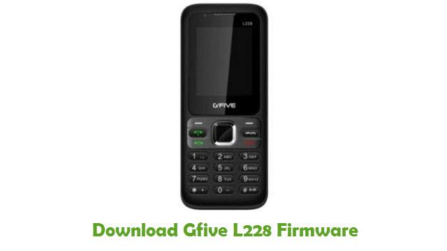 Download Gfive L228 Firmware