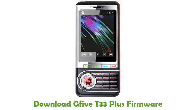 Download Gfive T33 Plus Firmware