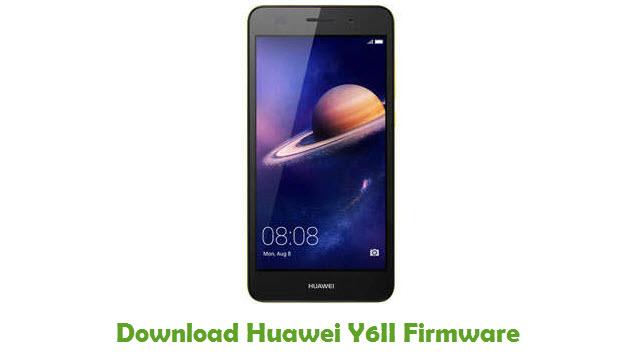 Huawei Y6II Stock ROM