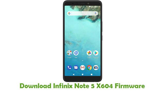 Download Infinix Note 5 X604 Firmware