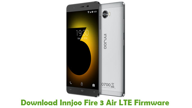 Innjoo Fire 3 Air LTE Stock ROM