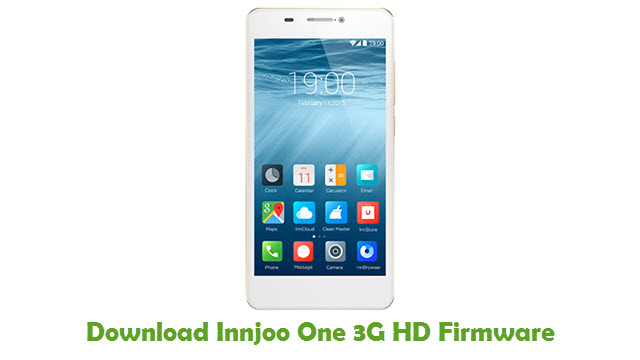 Innjoo One 3G HD Stock ROM
