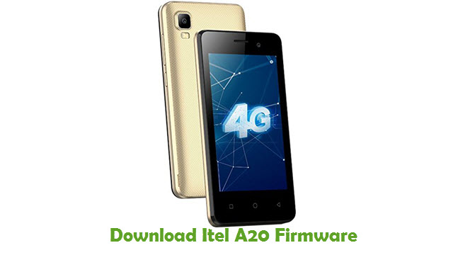 Download Itel A20 Stock ROM