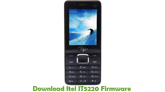 Itel IT5220 Stock ROM