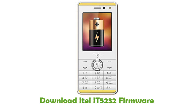 Itel IT5232 Stock ROM