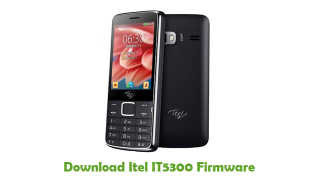 Download Itel IT5300 Stock ROM