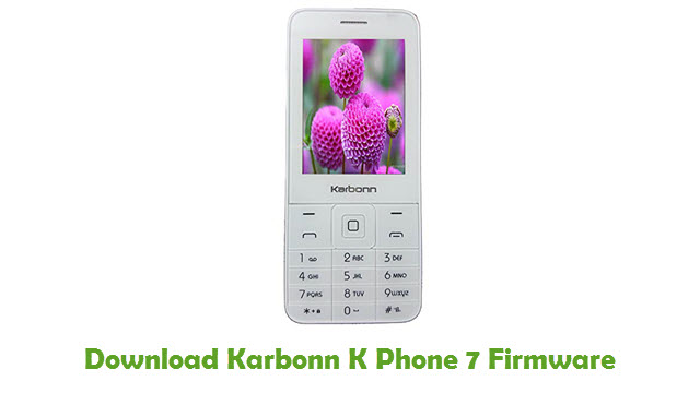 Download Karbonn K Phone 7 Firmware