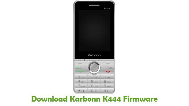 Karbonn K444 Stock ROM