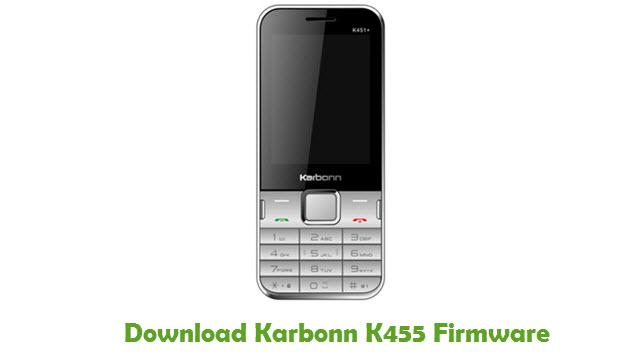 Karbonn K455 Stock ROM