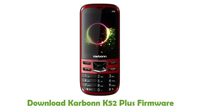 Karbonn K52 Plus Stock ROM