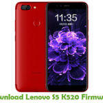 Lenovo S5 K520 Firmware