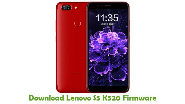 Lenovo S5 K520 Stock ROM
