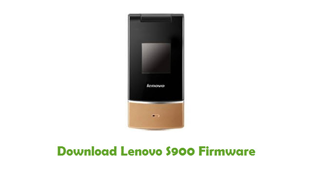 Download Lenovo S900 Stock ROM