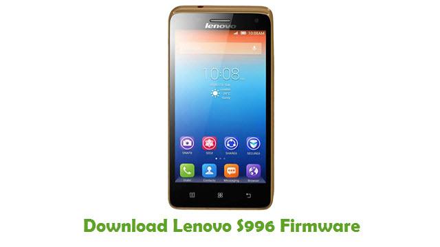 Download Lenovo S996 Stock ROM