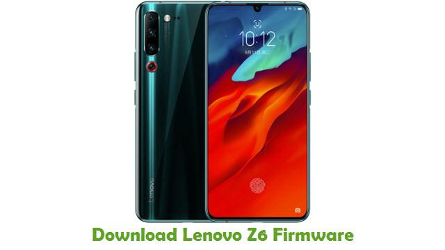 Download Lenovo Z6 Stock ROM