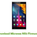 Micronex NX3 Firmware