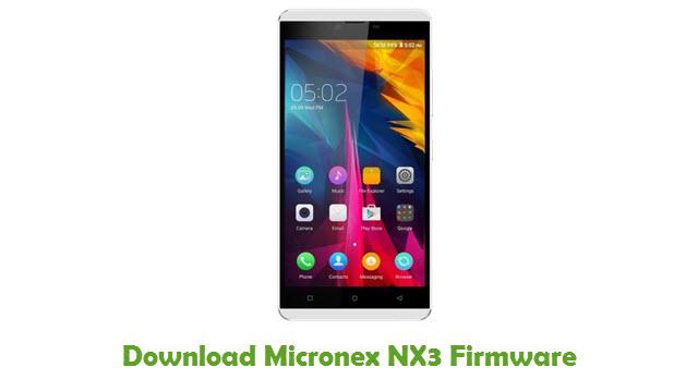 Micronex NX3 Stock ROM