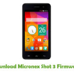 Micronex Shot 3 Firmware