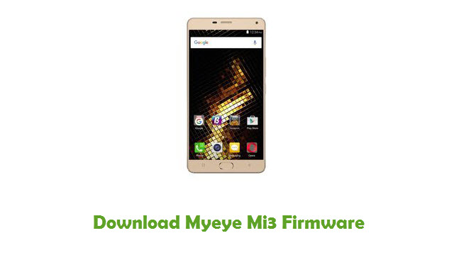 Download Myeye Mi3 Firmware