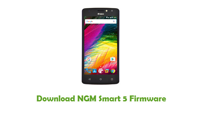 NGM Smart 5 Stock ROM