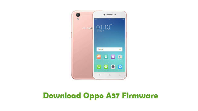 Oppo A37 Stock ROM