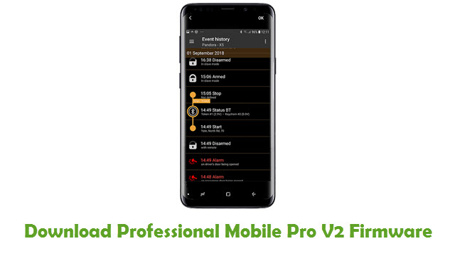 Download Professional Mobile Pro V2 Firmware