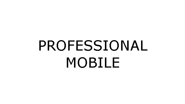 Download Professional Mobile Stock ROM