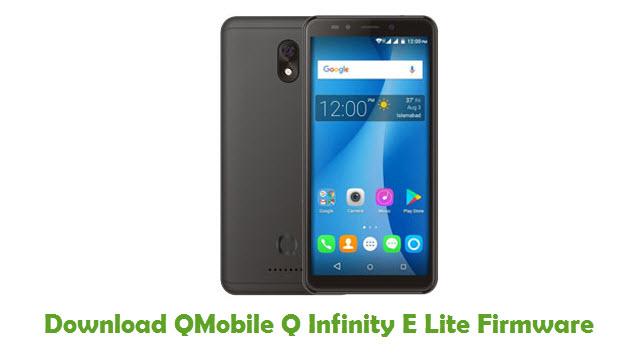 Download QMobile Q Infinity E Lite Stock ROM