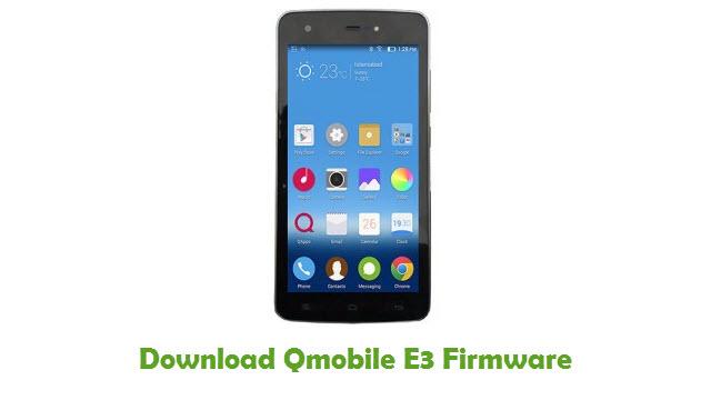 Download Qmobile E3 Stock ROM