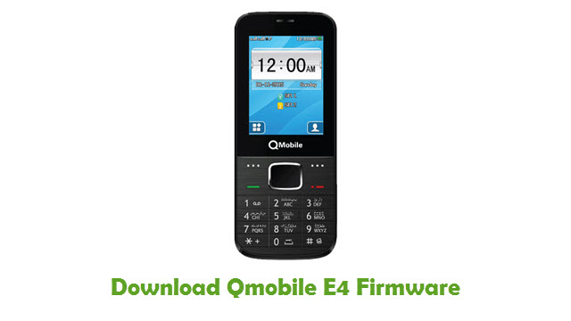 Download Qmobile E4 Stock ROM
