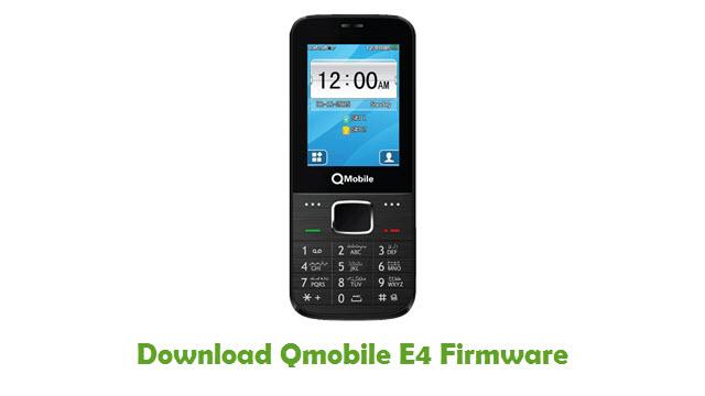 Download Qmobile E4 Firmware