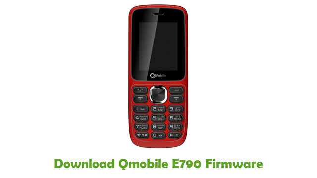Download Qmobile E790 Stock ROM
