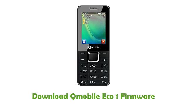 Download Qmobile Eco 1 Firmware
