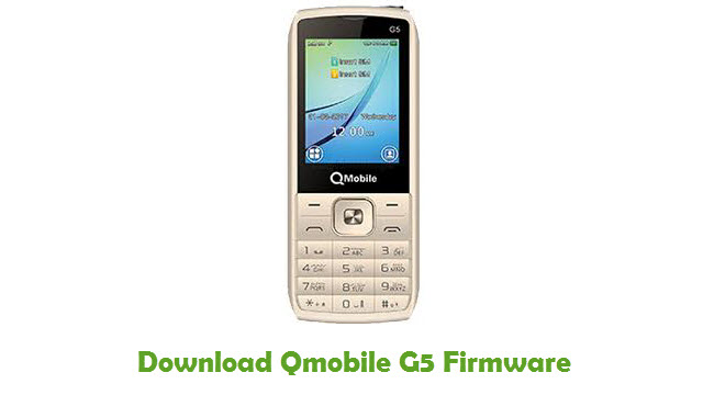 Download Qmobile G5 Stock ROM