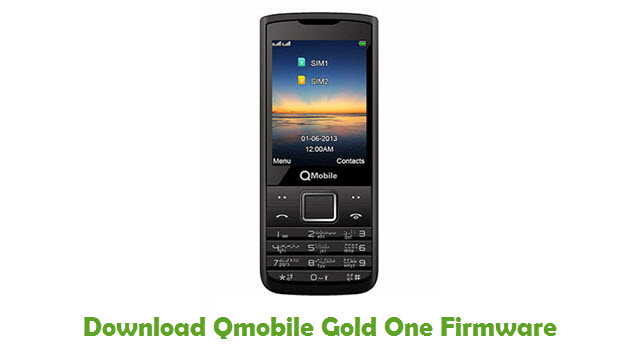 Download Qmobile Gold One Stock ROM