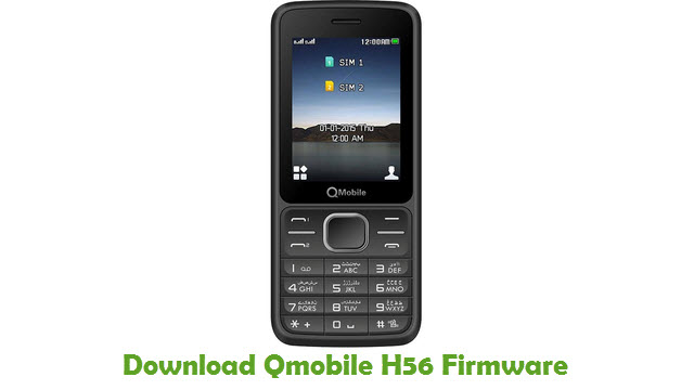 Download Qmobile H56 Stock ROM