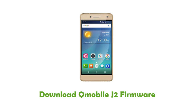 Download Qmobile J2 Firmware