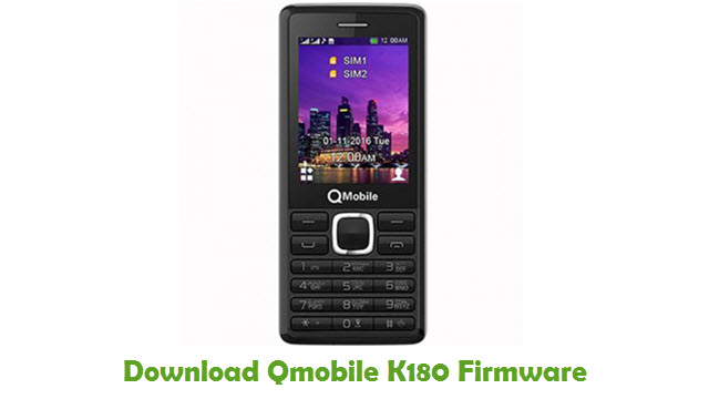 Download Qmobile K180 Stock ROM