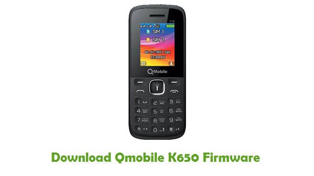 Download Qmobile K650 Stock ROM