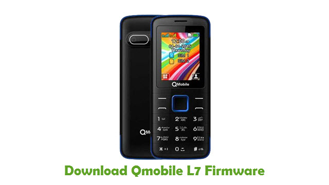 Download Qmobile L7 Firmware