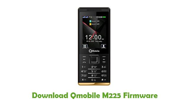 Download Qmobile M225 Stock ROM