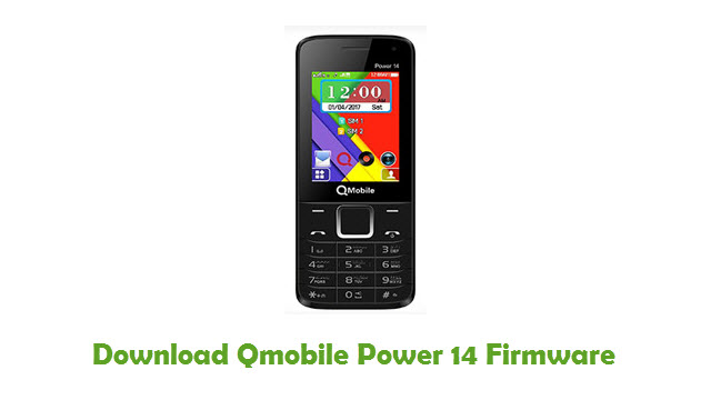 Download Qmobile Power 14 Stock ROM