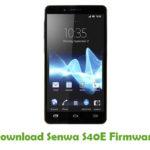 Senwa S40E Firmware