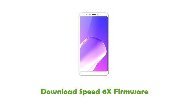 Download Speed 6X Firmware