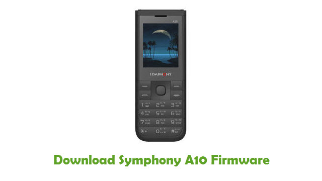 Download Symphony A10 Stock ROM