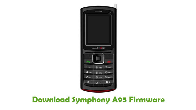 Download Symphony A95 Firmware