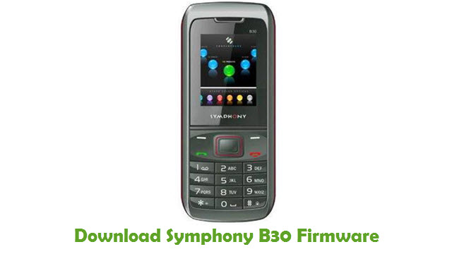 Download Symphony B30 Stock ROM